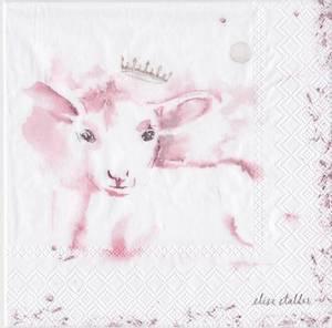 Bilde av Lam rosa servietter lunsj