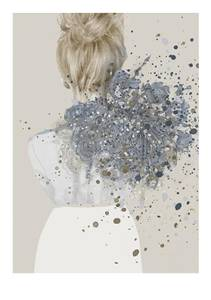 Bilde av Kunsttrykk Liv 30x40 - Anna Bülow