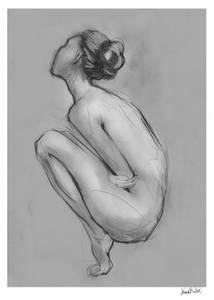 Bilde av Kunsttrykk Darkroom 02 50x70 - Anna Bülow
