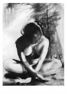 Bilde av Kunsttrykk Glade 50x70 - Anna Bülow