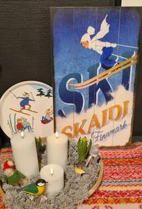 Bilde av Treskilt Ski SKAIDI Finnmark